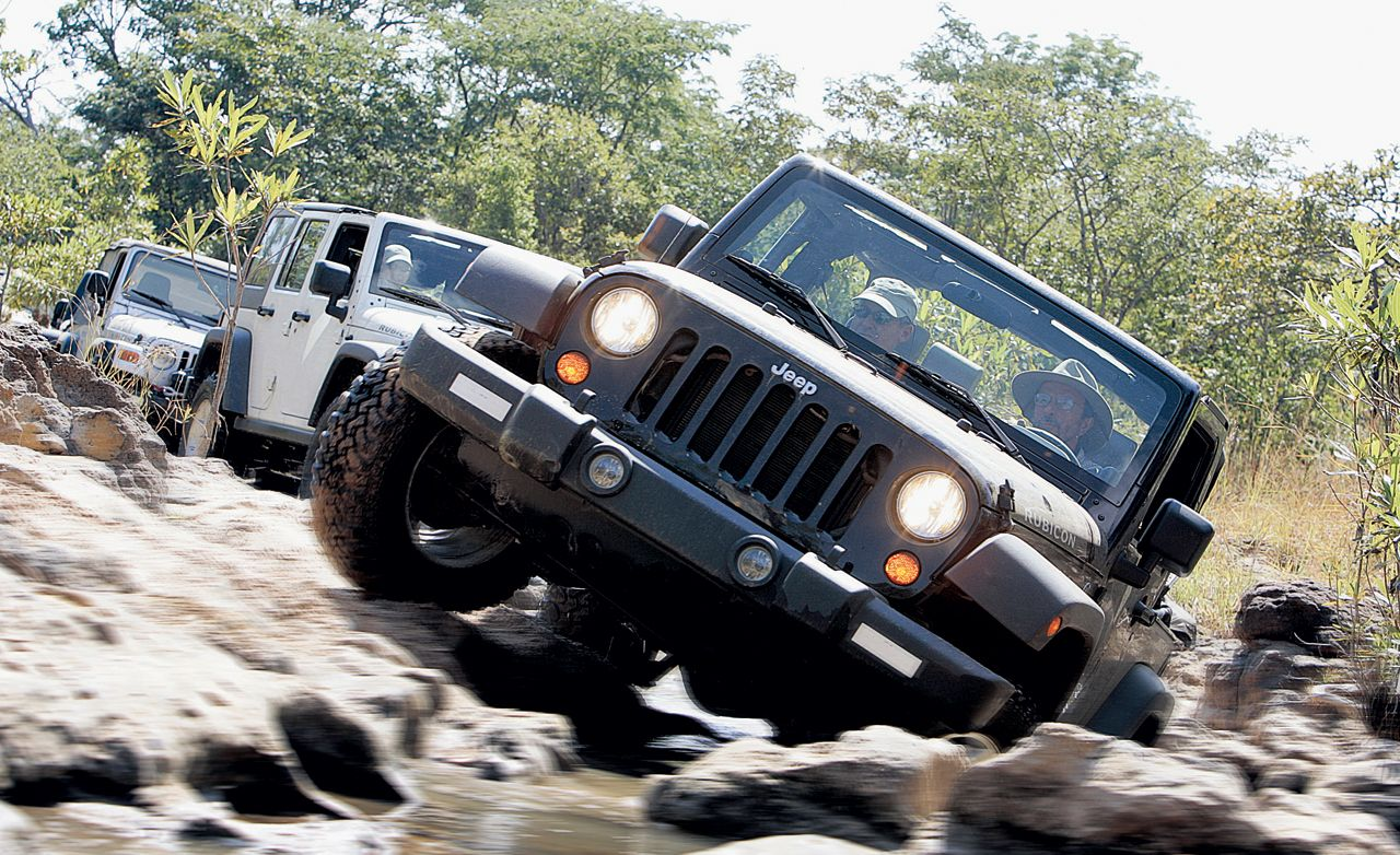 2007 jeep wrangler and wrangler unlimited road test review car and driver