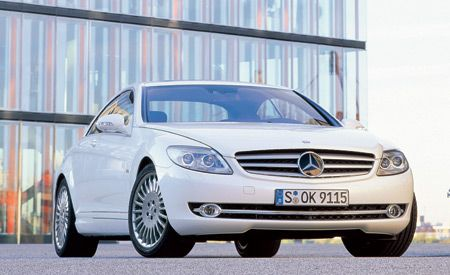 2007 Mercedes-Benz CL550, CL600, and 2008 CL63 AMG