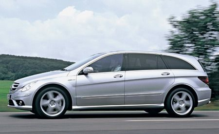 2007 Mercedes Benz R63 Amg First Drive Review Reviews Car