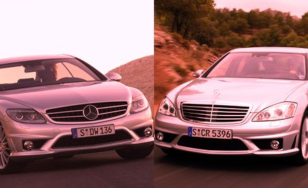2008 Mercedes-Benz CL63 AMG and S63 AMG