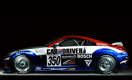 Car and Driver's Nissan 350Z Grand Am Cup Project Car