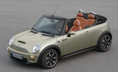 2007 Mini Cooper Convertible Sidewalk
