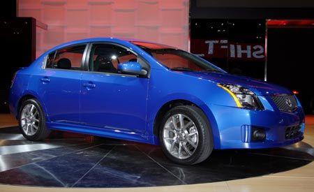 2007 Nissan Sentra SE-R and SE-R Spec V