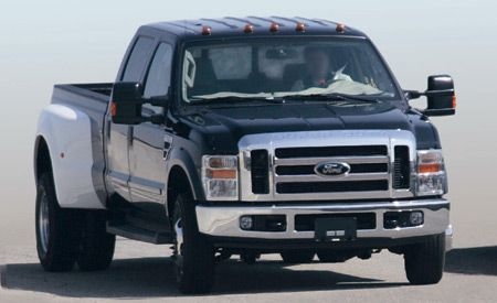 2008 Ford F-series Super Duty