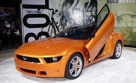 & Giugiaro Ford Mustang Concept   Auto Shows   News   Car and Driver markmcfarlin.com
