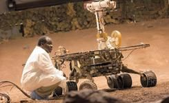Mars Rover. Rover and out.