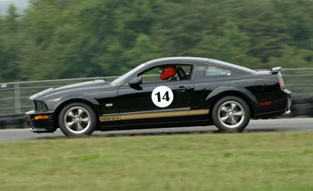 2007 Ford Mustang Shelby GT-H Rental-Car Challenge