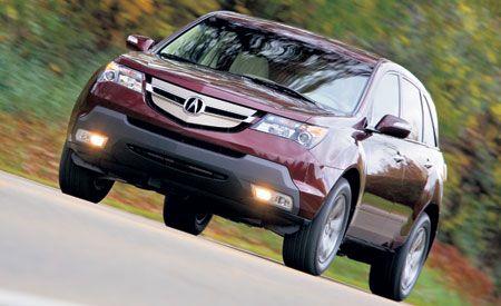 Acura MDX - 2007 acura mdx sport shocks