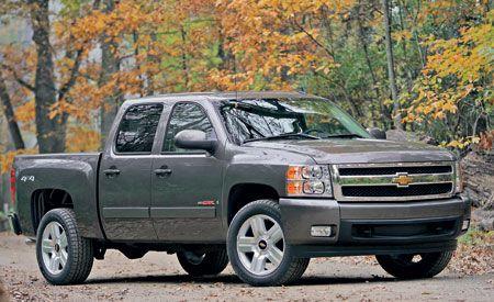 2007 Chevrolet Silverado LTZ Crew Cab 4X4