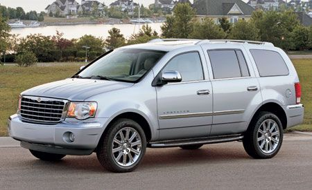 Chevy Suv For Sale >> 2007 Chrysler Aspen Limited 4WD