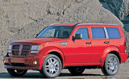 2007 dodge nitro rt short take road test reviews car and driver 2007 dodge nitro rt sciox Image collections