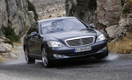 2007 Mercedes-Benz S550 4MATIC