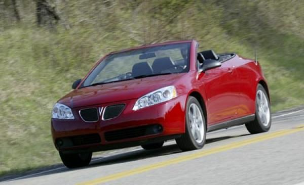 2007 Pontiac G6 Convertible Drive Line Review