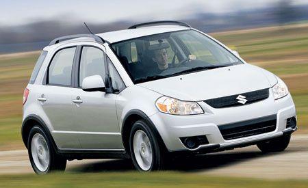 2007 suzuki sx4 hatchback