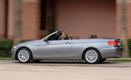 Bmw 335i Convertible >> 2008 Bmw 335i Convertible First Drive Review Reviews Car And
