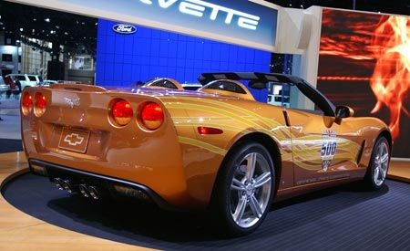 2007 Chevrolet Corvette Convertible Indy Pace Car Edition