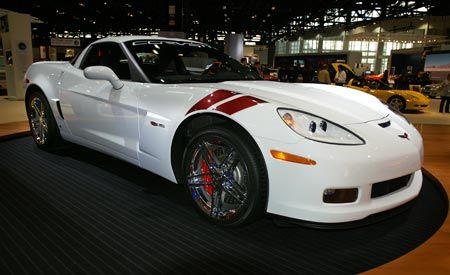 2007 Chevrolet Corvette Z06 Ron Fellows Championship Edition