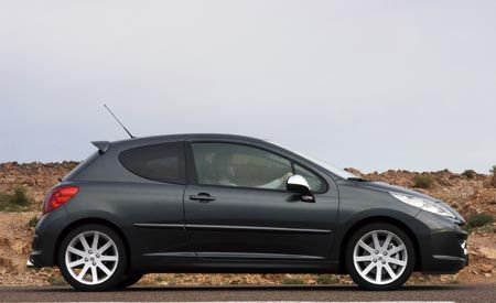 2007 Peugeot 207 RC and 207 CC