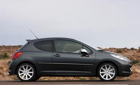 2007 Peugeot 207 RC and 207 CC