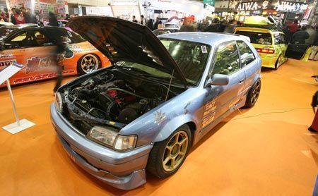 2007 Tokyo Auto Salon: Hatchback Drift Machine