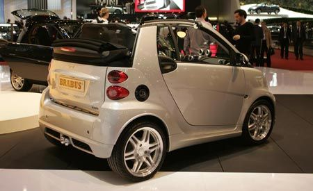 2008 Brabus Smart Fortwo and Fortwo Xclusive