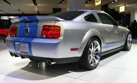2008 ford mustang shelby gt500kr auto shows news car. Black Bedroom Furniture Sets. Home Design Ideas