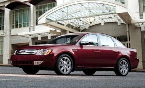 2008 Ford Taurus and Taurus X