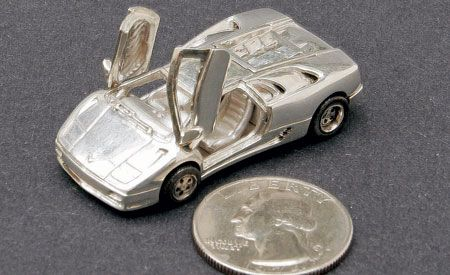 Puzzled: Uh, Whatcha Got in a Small Silver Diablo?