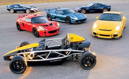 2007 Chevrolet Corvette Z06 vs. 2007 Lotus Exige S, 2007 Porsche 911 GT3