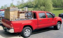 2005 Toyota Tacoma Double Cab 4X4 V-6 Long Bed
