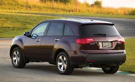 Acura MDX - Acura mdx 2007 price
