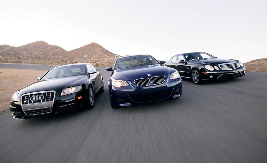 2007 Audi S6, BMW M5, and Mercedes-Benz E63 AMG - Slide 1