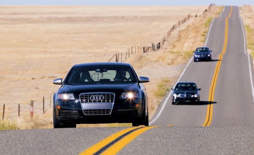 2007 Audi S6, BMW M5, and Mercedes-Benz E63 AMG - Slide 3
