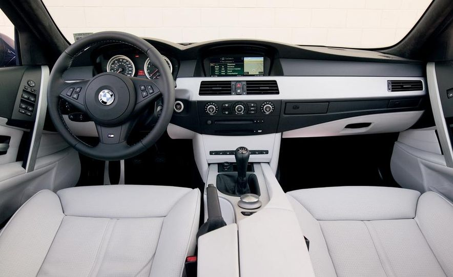 2007 Audi S6, BMW M5, and Mercedes-Benz E63 AMG - Slide 12