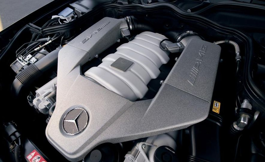 2007 Audi S6, BMW M5, and Mercedes-Benz E63 AMG - Slide 19