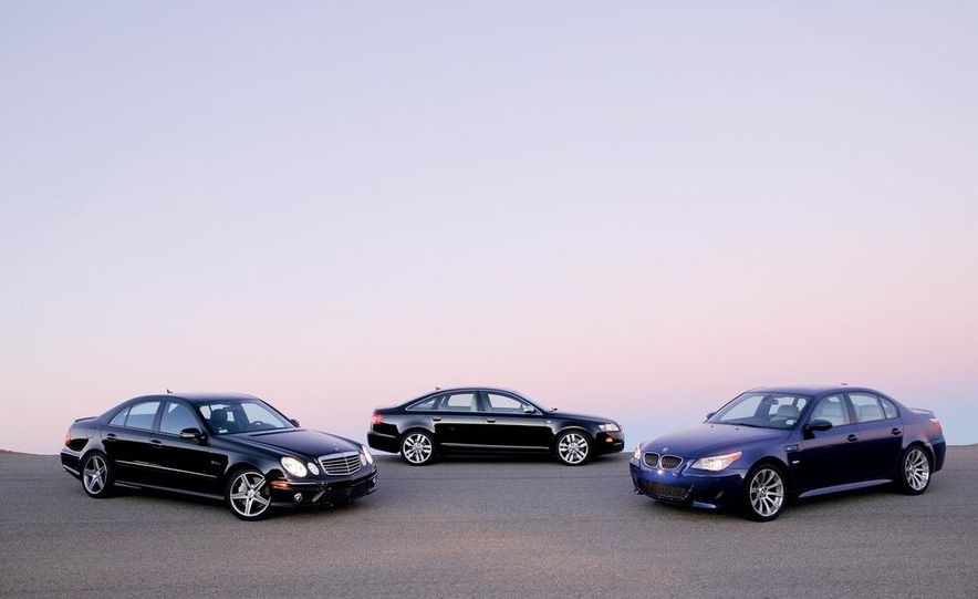 2007 Audi S6, BMW M5, and Mercedes-Benz E63 AMG - Slide 5