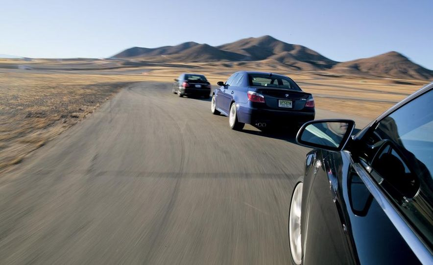 2007 Audi S6, BMW M5, and Mercedes-Benz E63 AMG - Slide 4