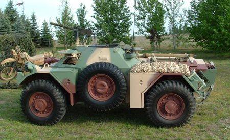 1959 Daimler Ferret Armored Scout Car