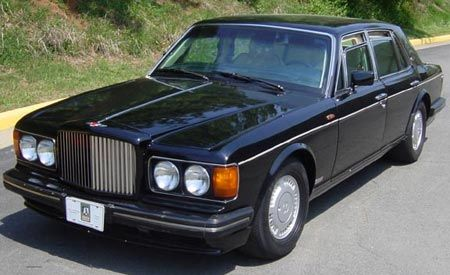 1990 Bentley Turbo R (Armored)