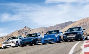 2007 Ford Mustang Shelby GT vs. 2007 Mazda RX-8, 2007 Nissan 350Z, 2008 Audi TT 2.0T