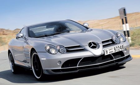 2007 Mercedes-Benz SLR McLaren 722 Edition