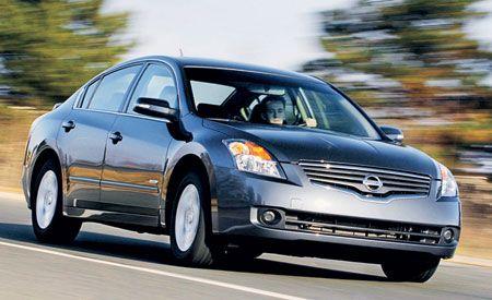 Charming 2007 Nissan Altima Hybrid