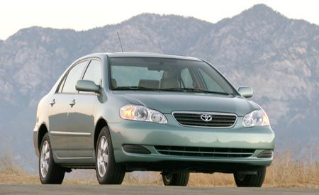 2008 Toyota Corolla and Corolla Matrix Prices Posted
