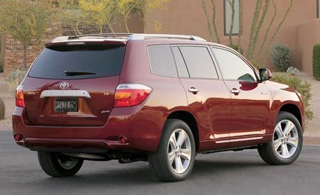 2008 Toyota Highlander Prices Set