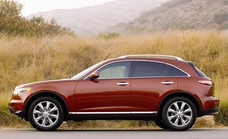 Pricing Announced for 2008 Infiniti FX
