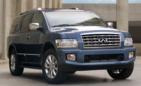 Pricing Posted for 2008 Infiniti QX56