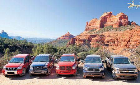2007 Chevy Silverado vs. Dodge Ram, Ford F-150, Nissan Titan, Toyota Tundra