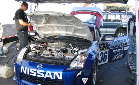 Project 350Z Update: 2007 Grand Am Koni Challenge
