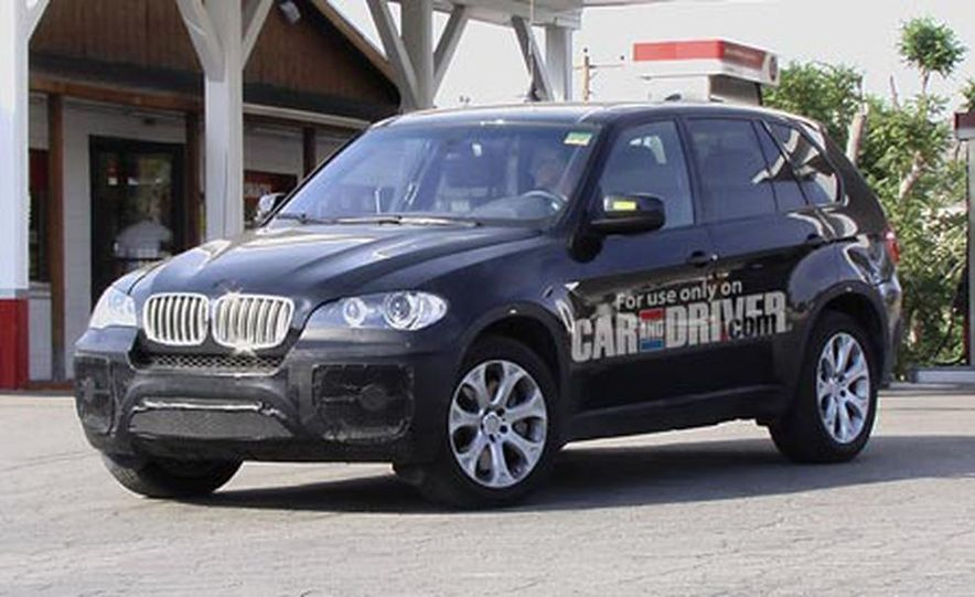 2009 BMW X5 M (spy photo) - Slide 1