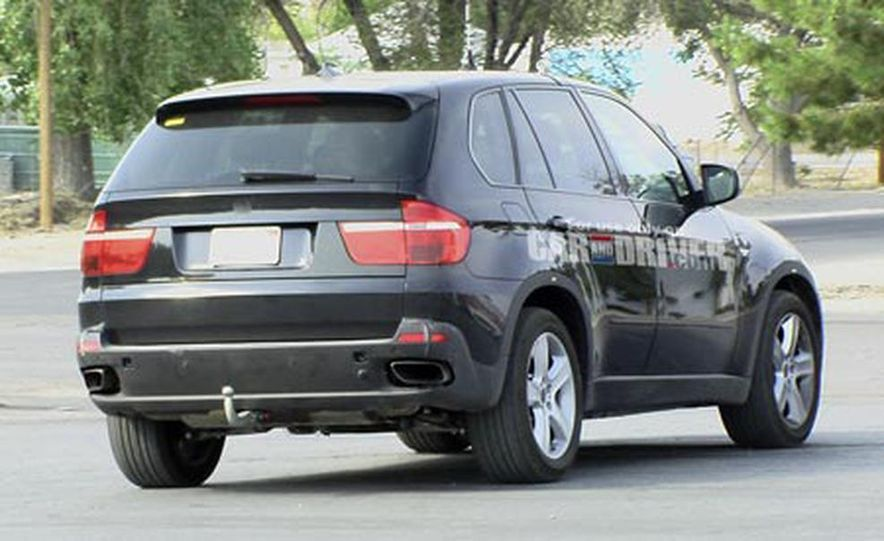 2009 BMW X5 M (spy photo) - Slide 2